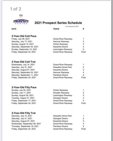 Prospect Series